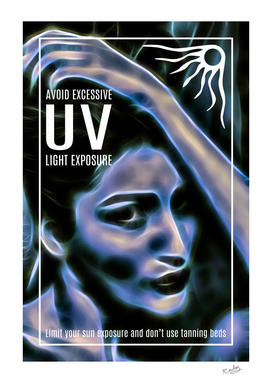 Excessive UV Awareness Poster