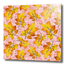 Paisley Bandana Autumn Leaves