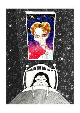 The Girl Who Dreamed of David Bowie