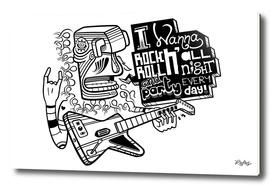 I Wanna Rock N'Roll All Night