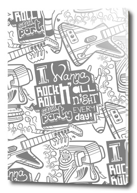 I Wanna Rock N' Roll All Night (Pattern Version)