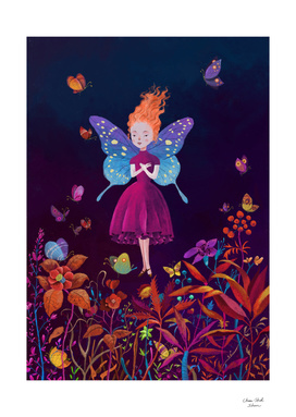 The butterfly fairy