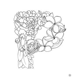 Peony & Plumeria