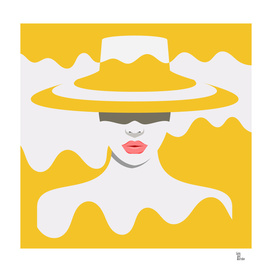 Woman in Yellow Hat
