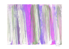 Purple acrylic brush strokes