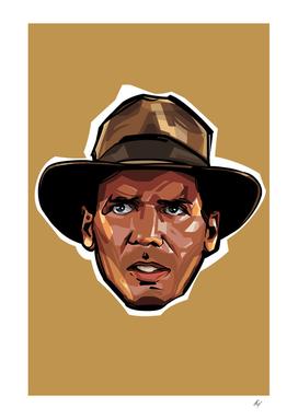 Indiana Jones Head