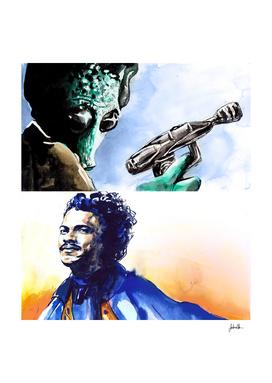 Greedo and Lando