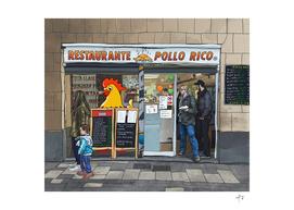 Pollo Rico, Barcelona