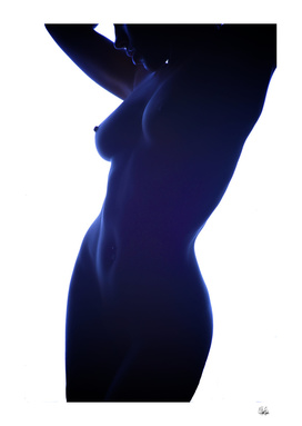 The Blue Body - Nude