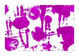 Watercolor purple blots