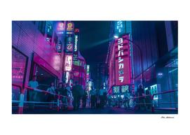 Tokyo Bloom - Purple Nights