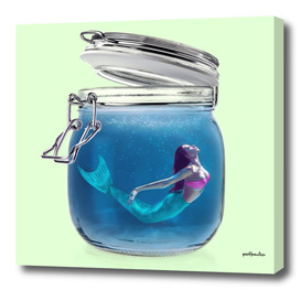 MERMAID JAR