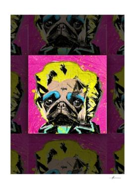 Pug Portrait 01