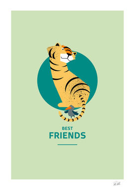 Best Friends – Tiger and Bird