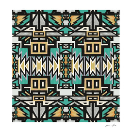 African Tribal Geo pattern