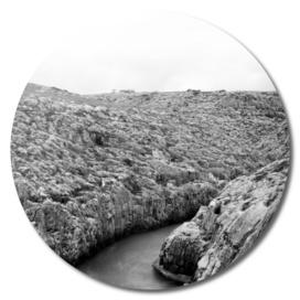 Patterned Rocks at Wied Iz Zurrieq Malta