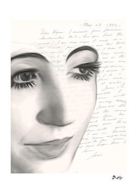 Pen artists: Anaïs Nin