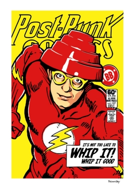 """Post-Punk Comics | Whip It"