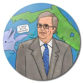 Sad Jeb Bush
