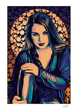 A Popping Art Portrait