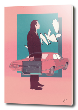 PULP FICTION VINTAGE POSTER