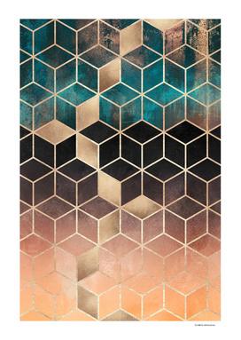 Ombre Dream Cubes
