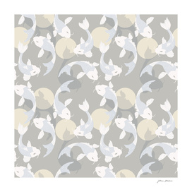 Koi fish pattern 004
