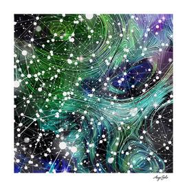 Inhabited space. Constellations.