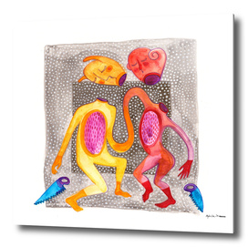 the dancing daemon couple