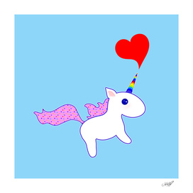 Heart Horn Unicorn