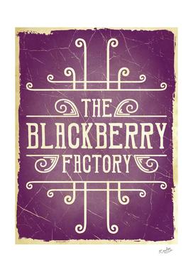 The Blackberry Factory Typographic