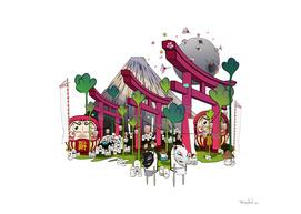 Fuji Scene
