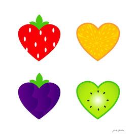 Cute handdrawn Hearts edition