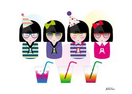 kokeshis party