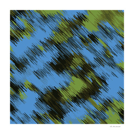 splash painting texture abstract pattern in green and blue