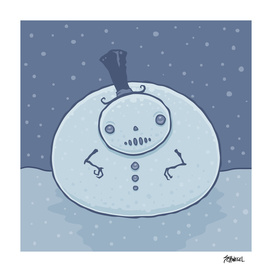 Pudgy Snowman