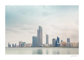 Dubai skyscrapers panorama
