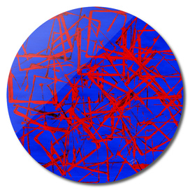 Blue and red-1