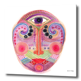 the all seeing tranquility mask