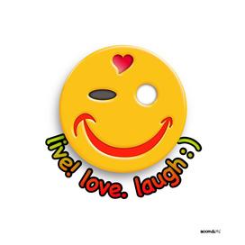 Boomgoo's Smile - live love laugh (31640)