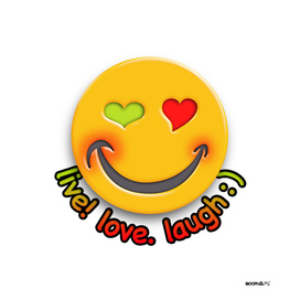 Boomgoo's Smile - live love laugh (42633)