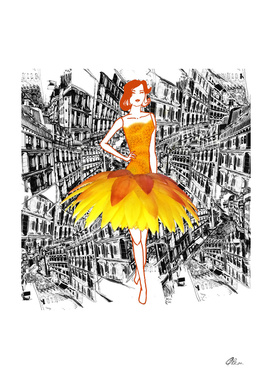 Everlasting Daisy fashion illustration