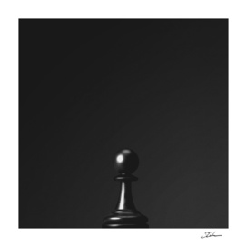 GAME OF THE THRONE / THE BLACK PAWN