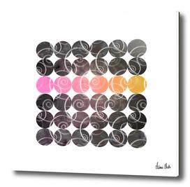 Abstract Circles   spiral pattern no. 2