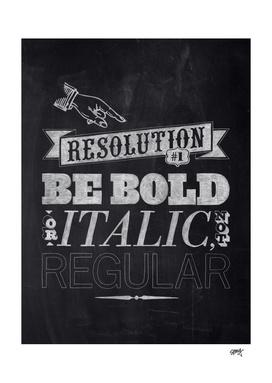 Resolution #1