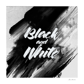 by Black and White (Square)