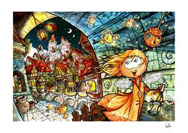 Elf Town -Night Watch