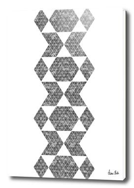 Abstract Geometric   retro style no. 5