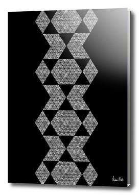 Abstract Geometric   retro style no. 6