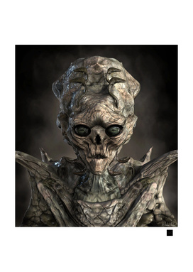 Alien Flesh Eater Portrait